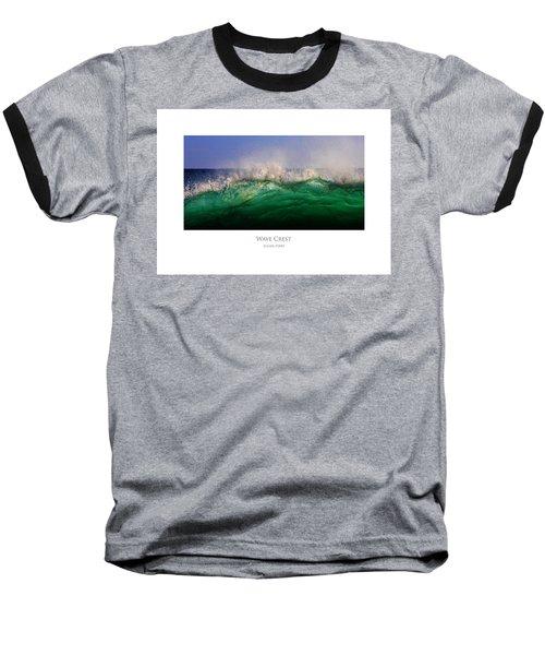 Wave Crest Baseball T-Shirt