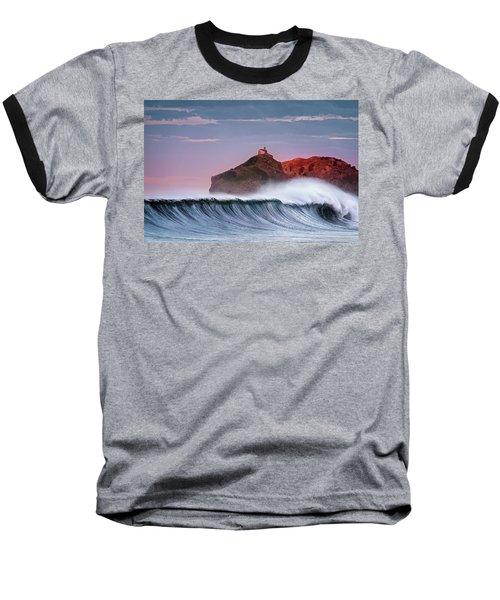 Wave In Bakio Baseball T-Shirt