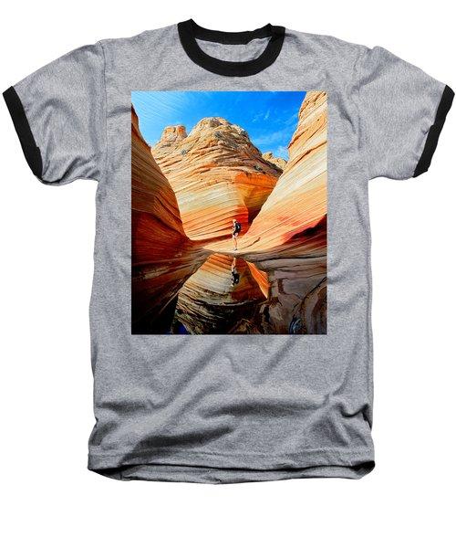 Wave Reflection Baseball T-Shirt