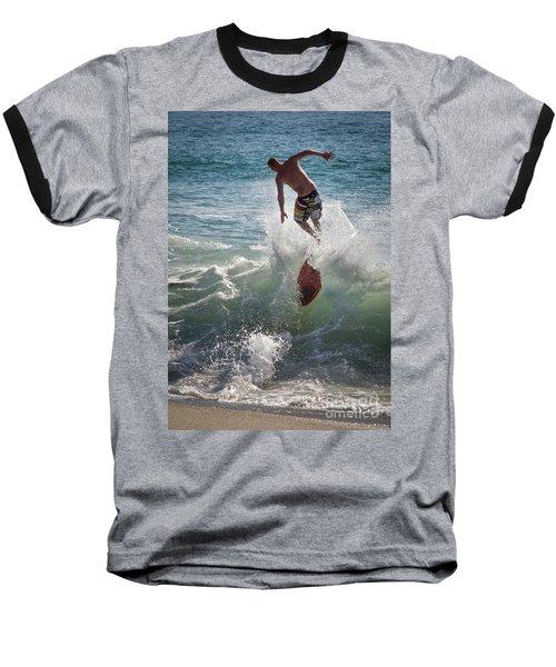 Wave Skimmer Baseball T-Shirt