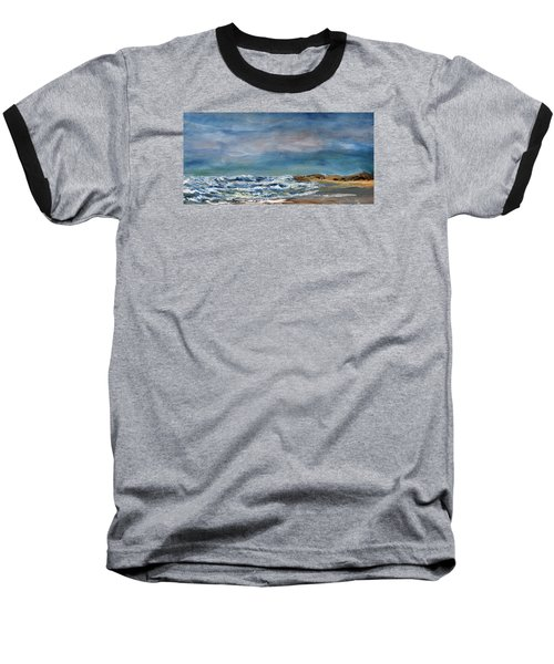 Wave Upon Wave Baseball T-Shirt