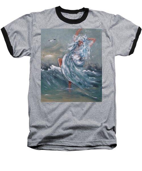 Wave Within Baseball T-Shirt