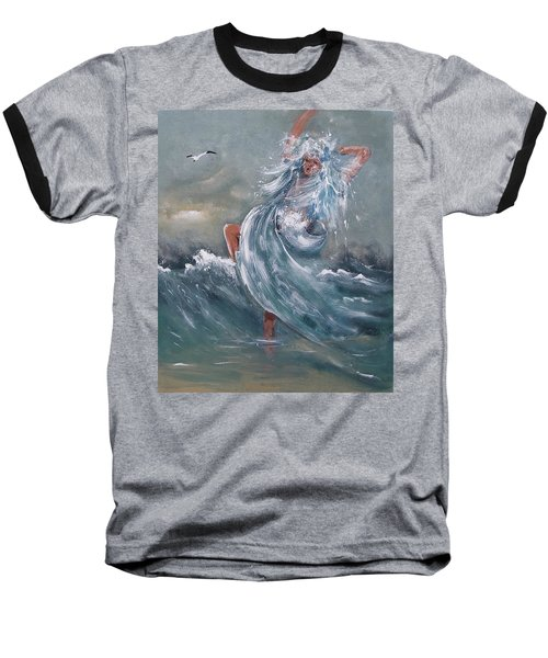 Wave Within Baseball T-Shirt