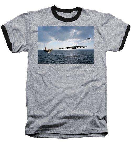 Waverunner Baseball T-Shirt by Peter Chilelli