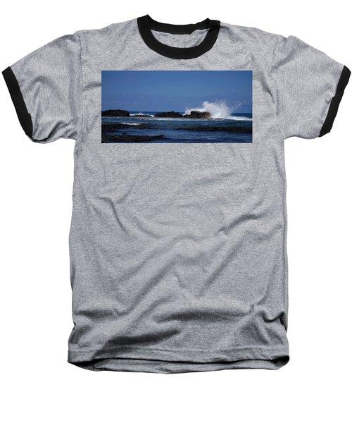 Waves Crashing Baseball T-Shirt
