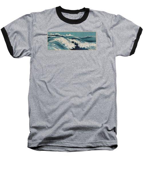 Waves Baseball T-Shirt