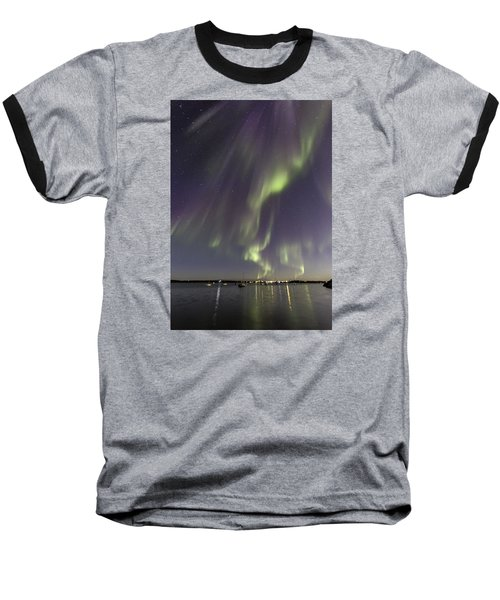 Waves Of Color Baseball T-Shirt