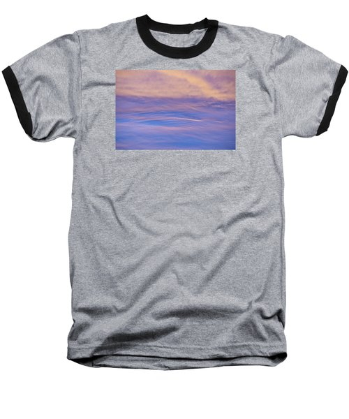 Waves Of Color Baseball T-Shirt