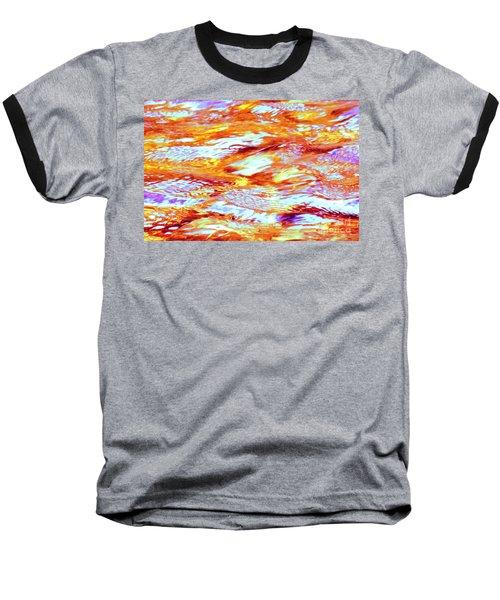 Waves Of Light Baseball T-Shirt