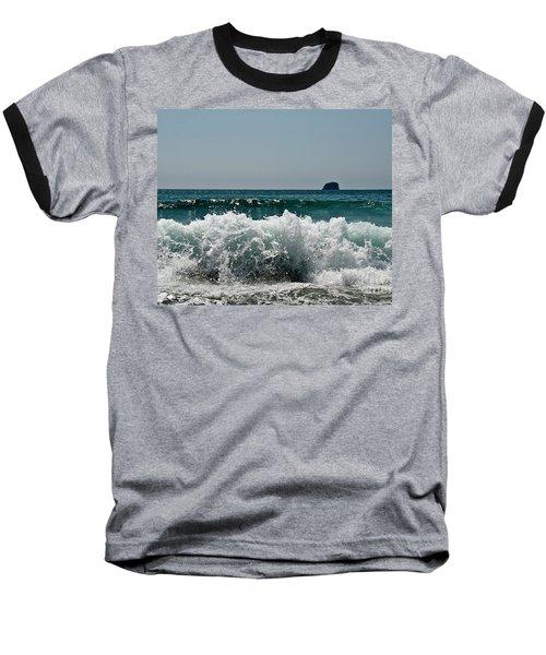Waves Of Pacific Ocean. Coromandel,new Zealand Baseball T-Shirt
