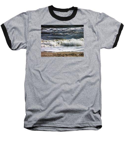 Waves, Waves, Waves Baseball T-Shirt