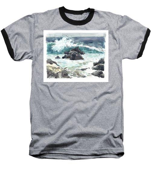 Wawaloli Beach, Hawaii Baseball T-Shirt