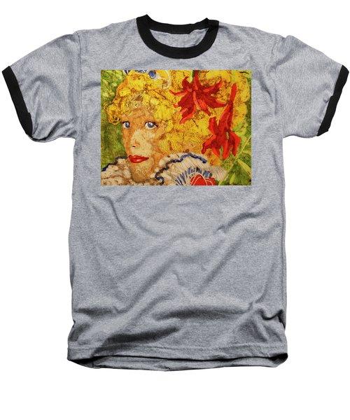 Wax On Wax Off Baseball T-Shirt by Cynthia Powell