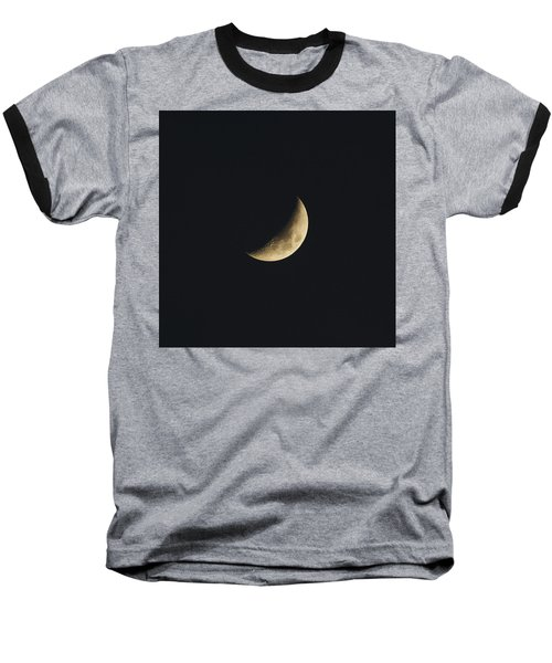 Waxing Crescent Spring 2017 Baseball T-Shirt by Jason Coward