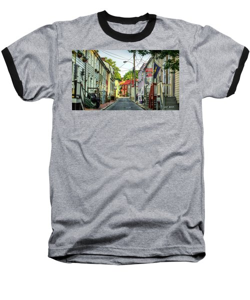 Way Downtown Baseball T-Shirt