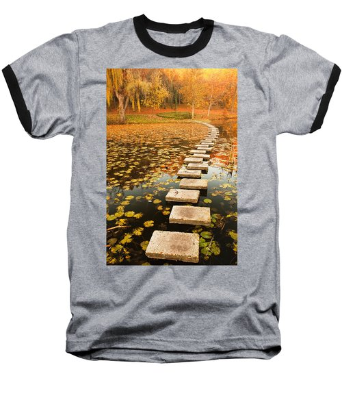 Way In The Lake Baseball T-Shirt