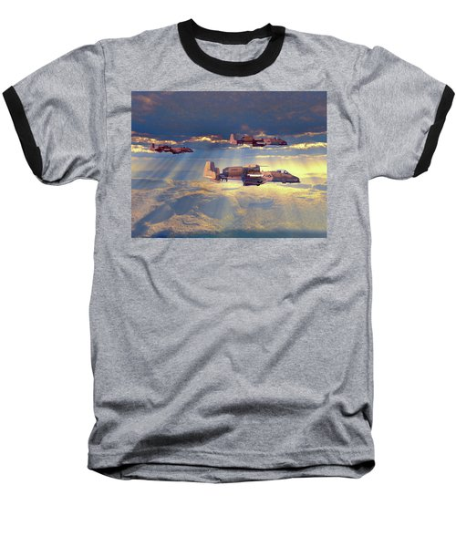 Way Point Alpha V2 Baseball T-Shirt