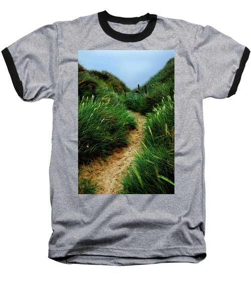 Way Through The Dunes Baseball T-Shirt