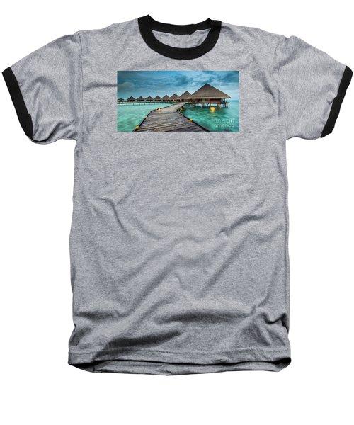 Way To Luxury 2x1 Baseball T-Shirt by Hannes Cmarits