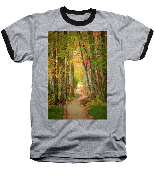 Baseball T-Shirt featuring the photograph Way To Sieur De Monts  by Emmanuel Panagiotakis