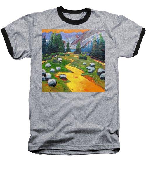 Way To The Lake Baseball T-Shirt by Gary Coleman