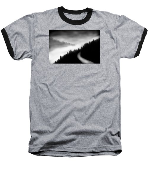 Way To The Unknown Baseball T-Shirt by Salman Ravish