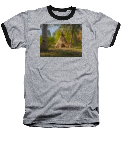 Wayne And Karen's Teepee Baseball T-Shirt