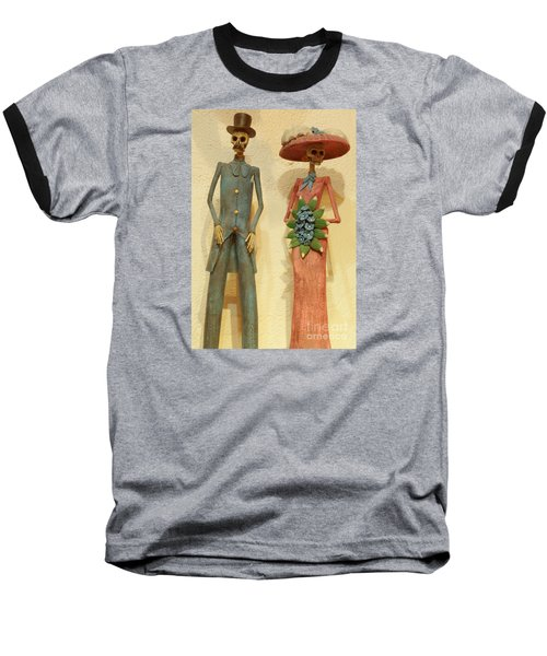 Baseball T-Shirt featuring the photograph We by Anna  Duyunova