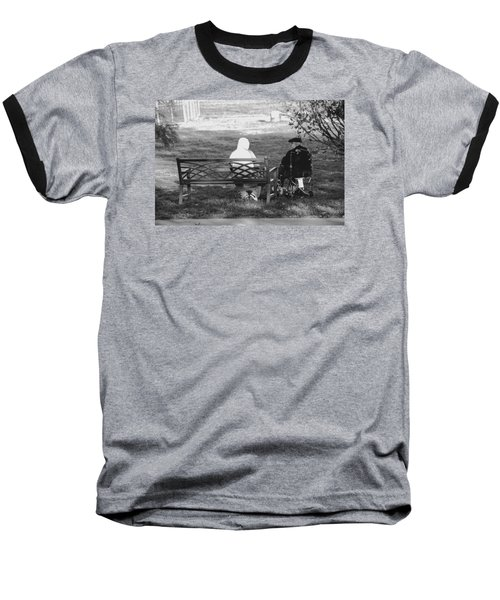 We Are Young Baseball T-Shirt by Jose Rojas