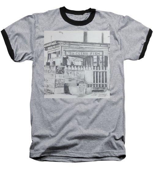 We Clean Fish Baseball T-Shirt