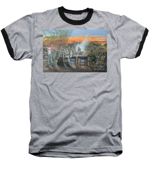 We Did It First Forrest Baseball T-Shirt