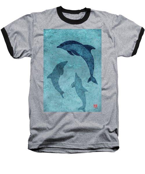 We Dream Again Of Blue Green Seas Baseball T-Shirt