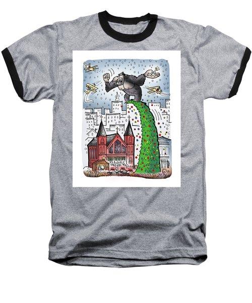 King Kong Kristmas Baseball T-Shirt