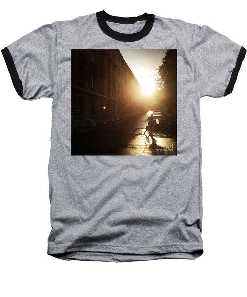 We Live In Budapest #11 Baseball T-Shirt