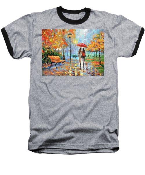 We Met In Park          Baseball T-Shirt