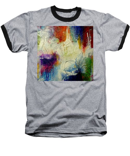 We Should Be Dancing Baseball T-Shirt by Tracy Bonin