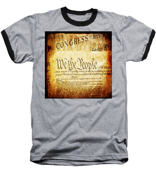 We The People Baseball T-Shirt
