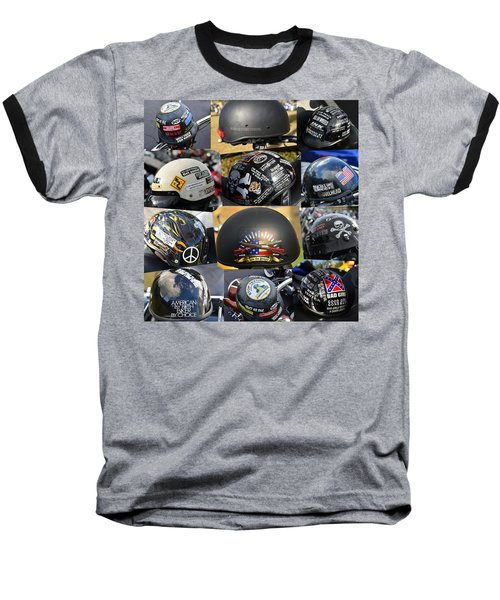 Baseball T-Shirt featuring the photograph We The People by David Lee Thompson