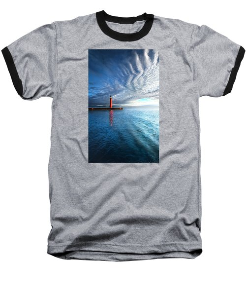 We Wait Baseball T-Shirt by Phil Koch