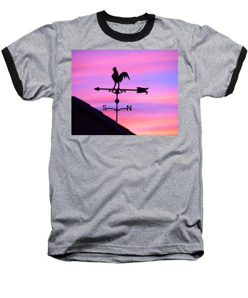 Weather Vane, Wendel's Cock Baseball T-Shirt
