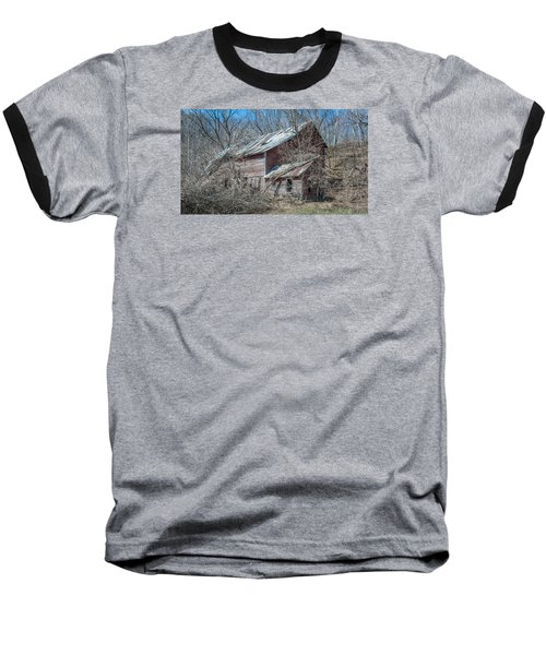 Baseball T-Shirt featuring the photograph Weathered And Broken by Dan Traun