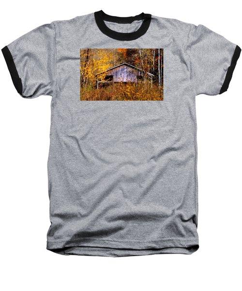 Weathered Barn 1 Baseball T-Shirt
