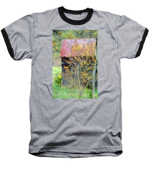 Weathered Barn 2 Baseball T-Shirt