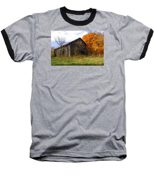 Weathered Barn 3 Baseball T-Shirt