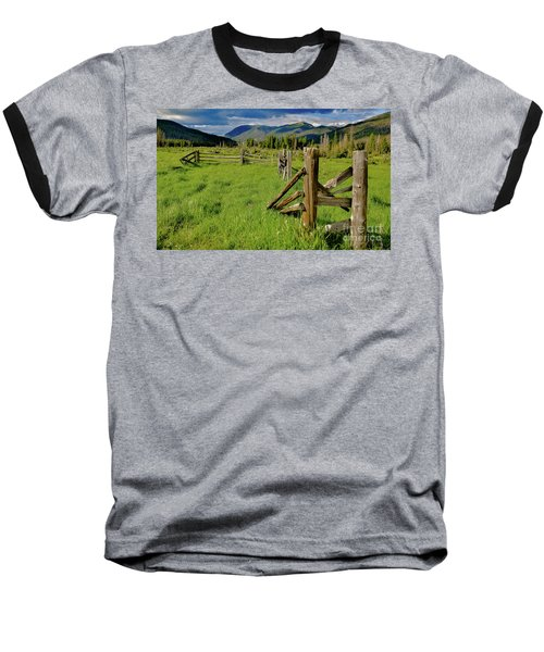 Weathered But Standing Baseball T-Shirt