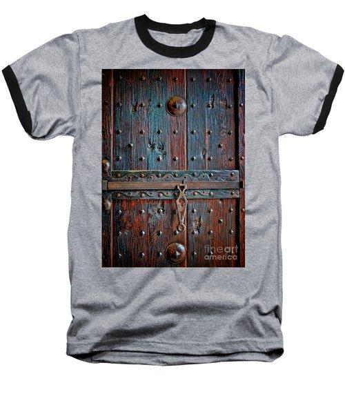 Weathered Baseball T-Shirt by Gina Savage