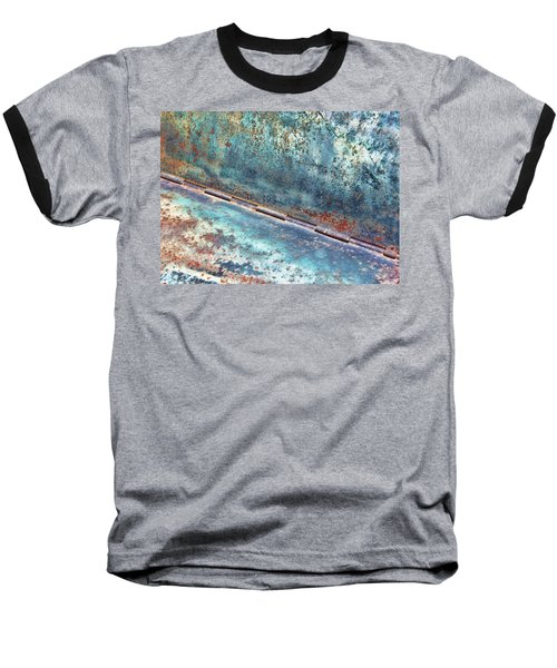 Baseball T-Shirt featuring the photograph Weathered by Kathy Bassett