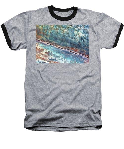 Weathered Baseball T-Shirt by Kathy Bassett