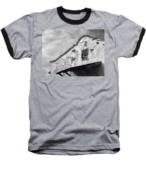 Weathered Sanctuary Baseball T-Shirt