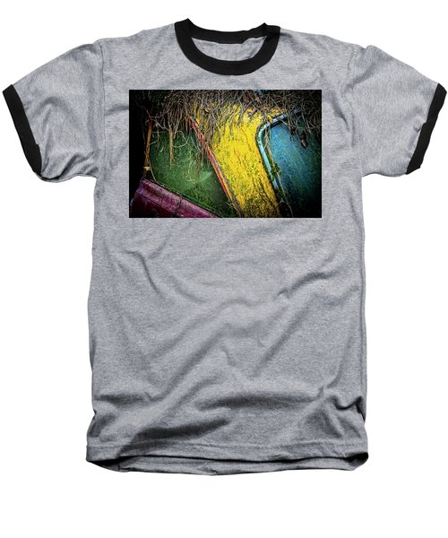 Weathered Vehicle Baseball T-Shirt